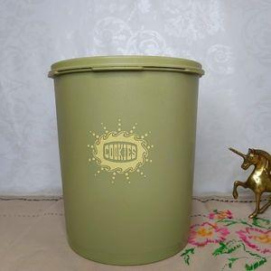 Vintage Rare Tupperware Cookie Container Jar